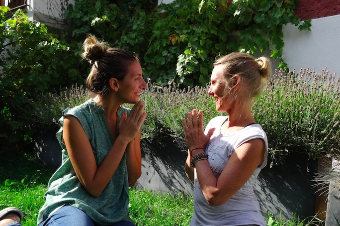 24-31 August 2019, THE GO BEYOND retreat: a transformative experience where mind and body collude with Erica Saltarelli and Harriet Grachten.